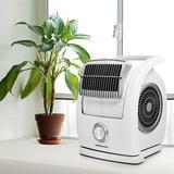 "Ovente 15"" Oscillating Fan in White, Size 15.0 H x 11.25 W x 12.5 D in   Wayfair BF74W"