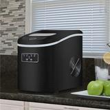 Whynter 27 lb. Daily Production Portable Ice Maker in Black, Size 12.9 H x 9.5 W x 14.1 D in | Wayfair IMC-270MB