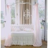 Brandee Danielle 3 Piece Crib Bedding Set Cotton Blend in White, Size 52.0 W in   Wayfair 55-3PBB