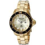 Invicta Women's 19823 Pro Diver Analog Display Swiss Quartz Gold Watch