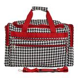 World Traveler Houndstooth, Red Trim Hounds, One Size