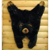 "Soft And Cuddly Cute Black Bear Floor Throw Area Rug (Great Kids Rug) 42"""