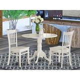 3 PC small Kitchen Table set-Kitchen Table and 2 Kitchen Chairs.