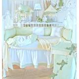 Brandee Danielle Froggie 3 Piece Crib Bedding Set Cotton Blend, Size 30.0 W in   Wayfair 1283PFGY
