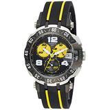 Tissot T-Race Thomas Luthi Black Yellow Dial SS Quartz Lady Watch T0924172705700