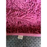 Tache Home Fashion Shag Cotton Hot Area Rug Cotton in Pink, Size 96.0 H x 31.0 W x 3.0 D in   Wayfair MAT3196P