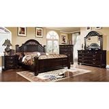247SHOPATHOME bedroom-furniture-sets, Queen, Walnut