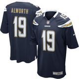 Mens San Diego Chargers Lance Alworth Nike Navy Retired Player Game Jersey