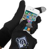 McArthur Tampa Bay Rays Touch Gloves - Black