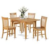 7-Piece Dinette set - Kitchen dinette table and 6 kitchen chairs