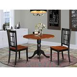 3 PC small Kitchen Table set-Kitchen Table and 2 dinette Chairs.