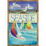 "Toland Home Garden 109881 Seaside 28 x 40 Inch Decorative, House Flag (28"" x 40"")"