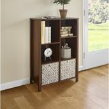 "ClosetMaid Premium Cubes 38.31"" H x 25.81"" W Standard Bookcase Wood in White/Brown, Size 38.31 H x 25.81 W x 11.81 D in | Wayfair 16054"