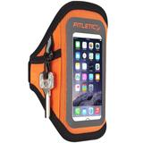 Fitletic Surge Running Armband Packs & Carriers Orange