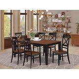 7 Pc Dining set-Table and 6 Kitchen Chairs