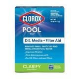 CLOROX POOL & SPA 50124CLX Filter Aid,Granular,24 lb.