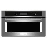 KitchenAid KMBP107E 27 Inch Wide 1.4 Cu. Ft. Built-In Microwave with Convection Cooking and