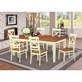 7 Pc formal Dining room set-Dining Table and 6 Dining Chairs