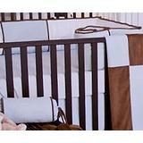 Brandee Danielle Blue Chocolate Fitted Crib Sheet Cotton Blend, Size 6.0 H x 52.0 W x 50.0 D in   Wayfair 186SHBC