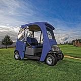 Classic Accessories Fairway Golf Cart CoverPolyester/Polyester blend in Blue, Size 59.0 H x 135.5 W x 44.0 D in   Wayfair 40-053-345501-00