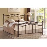 Unspecified Rosebery Bronze Metal Platform Bed (Queen)