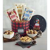 Moose Munch Premium Popcorn Holiday Drum