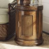 Tommy Bahama Home Bali Hai End Table w/ Storage Wood in Brown/Red, Size 24.0 H x 19.25 W x 19.25 D in   Wayfair 01-0593-950