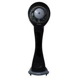"EcoJet by Joape Misting Fans Hurricane 660 High Velocity 78"" Pedestal/Standing Fan in Gray, Size 78.0 H x 30.0 W x 30.0 D in   Wayfair LVP-040201"