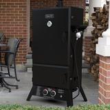 Dyna-Glo Propane Smoker Steel in Black/Gray, Size 56.55 H in | Wayfair DGW1904BDP-D
