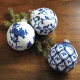 Set of 3 Chinoiserie Ornaments - Ballard Designs