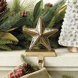 Mercury Glass Star Stocking Holder - Ballard Designs