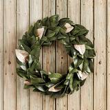 Southern Magnolia Gold Accent Wreath - Ballard Designs
