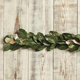 Southern Magnolia Gold Accent Garland - Ballard Designs