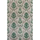KAS Rugs Emerald 9038 Ivory and Green Damask Hand-Tufted 100% Wool Area Rug with Cotton Backing 8 x