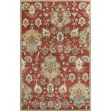 KAS Rugs Syriana 6025 Cinnamon Tapestry Hand-Tufted 100% New Zealand Wool Area Rug with Cotton