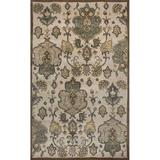 KAS Rugs Syriana 6022 Beige Tapestry Hand-Tufted 100% New Zealand Wool Area Rug with Cotton Backing
