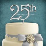 aMonogram Art Unlimited 25Th Cake Topper Wood in Green | Wayfair 94211P-shamrock