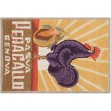 Safavieh Chelsea Rooster Hand Hooked Wool Rug - 1'8'' x 2'6'', Multicolor, 20X30