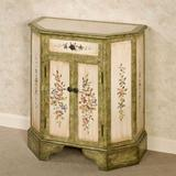 Elegant Blossom Storage Cabinet Antique Ivory , Antique Ivory