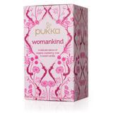 Pukka Herbs Teas, Coffees and Beverages - Womankind Tea - 20 Sachets