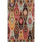 """Momeni Rugs Tangier Collection, 100% Wool Hand Tufted Tip Sheared Transitional Area Rug, 3'6"""" x 5'6"""", Multicolor"""