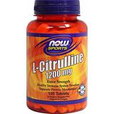 NOW Foods L-Citrulline 1200 mg-120 Tablets
