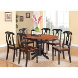 7 Pc Dining room set-Oval Dining Table and 6 Dining Chairs