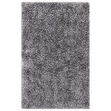 Safavieh New Orleans Shag Collection SG531 Handmade 1.6-inch Thick Accent Rug, 2' x 3', Grey / Grey
