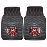 "Missouri State University Bears 27"" x 18"" 2-Pack Vinyl Car Mat Set"