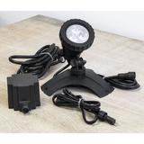 Campania International Spot Light Plastic in Black, Size 6.0 H x 6.5 W x 5.5 D in   Wayfair LED-KIT1-NA