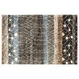 Mohawk Home Adobe Abstract Rug, Brown, 5X8 Ft