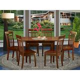 7 Pc Small Kitchen nook Dining set -T able and 6 Chairs for Dining room