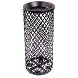 Leisure Craft Expanded Metal Ash Urn in Black, Size 24.0 H x 10.0 W x 10.0 D in   Wayfair AU10EXP-Black