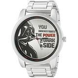 Star Wars Men's DAR2016 Analog Display Analog Quartz Silver Watch